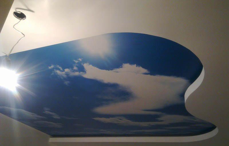 фото натяжной потолок Клипсо
