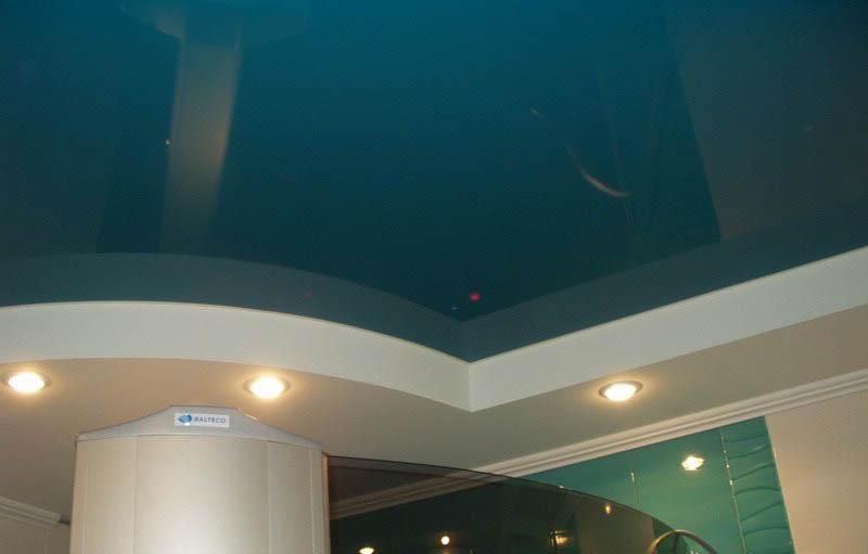 фото натяжной потолок в ресторане