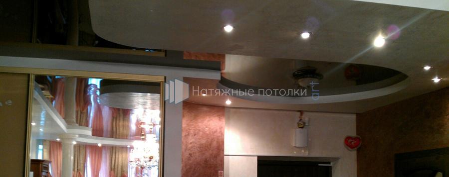 Натяжной потолок клипсо фото