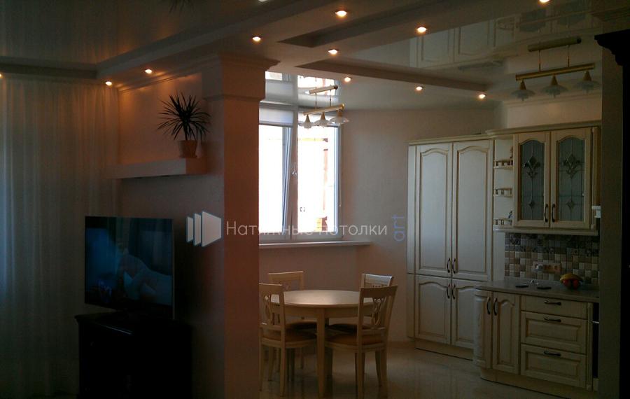 Натяжные потолки в кухню в Киеве
